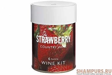 Muntons. Country Strawbery Wine  0,9 кг