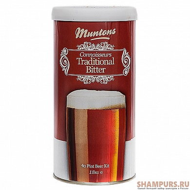 Muntons. Traditional Bitter 1,8 кг