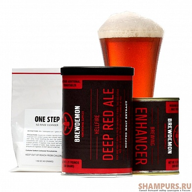 BrewDemon - Hellfire Deep Red Ale (basic)